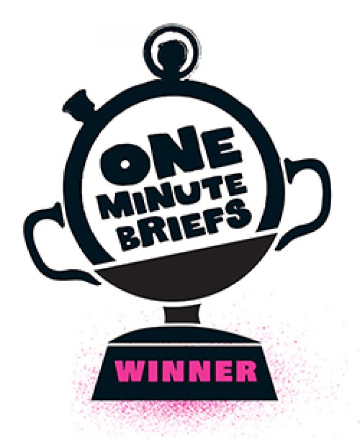 One Minute Brief Winner Logo 72Dpi 250Px Rgb
