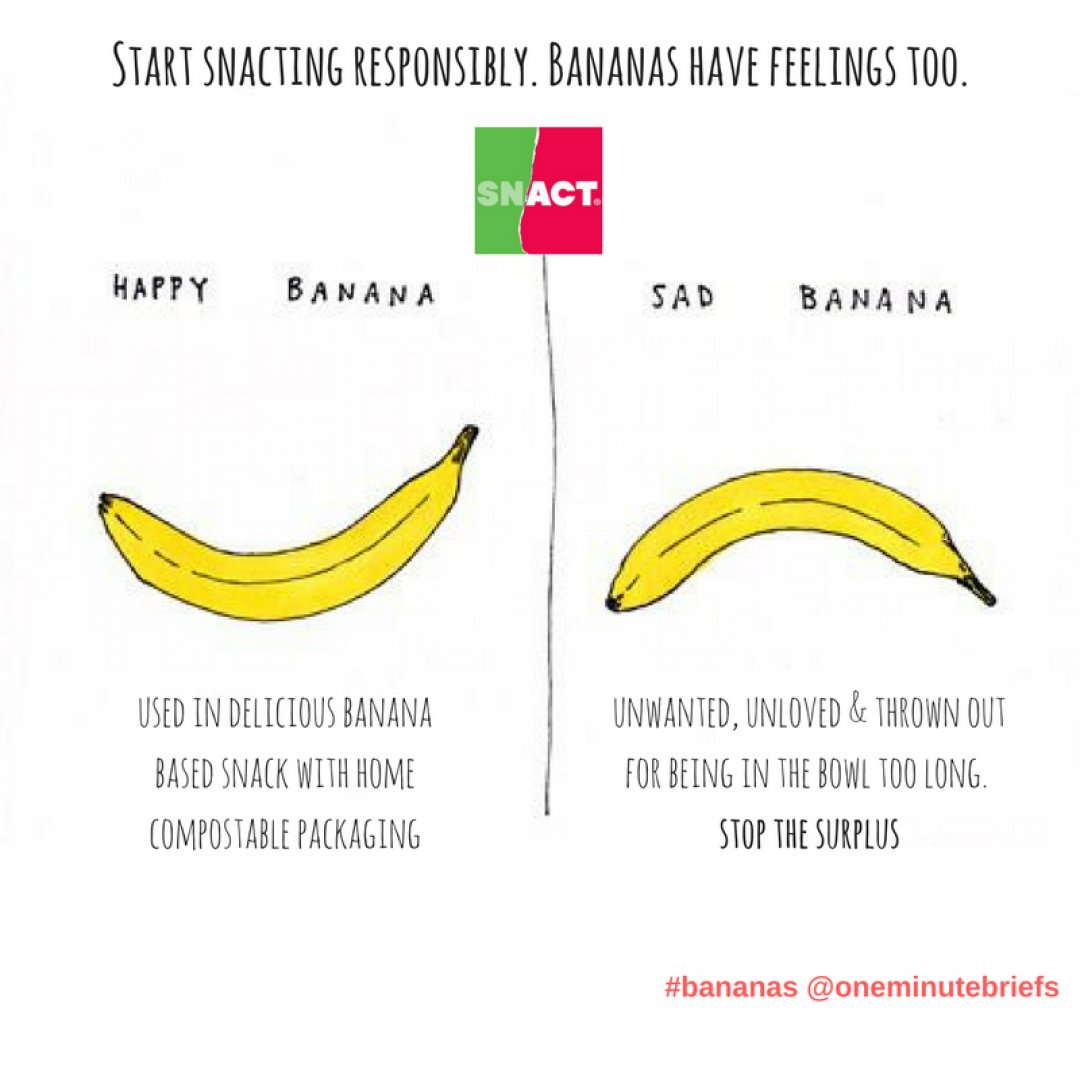Start Snacting Responsibly Bananas Have Feelings Too